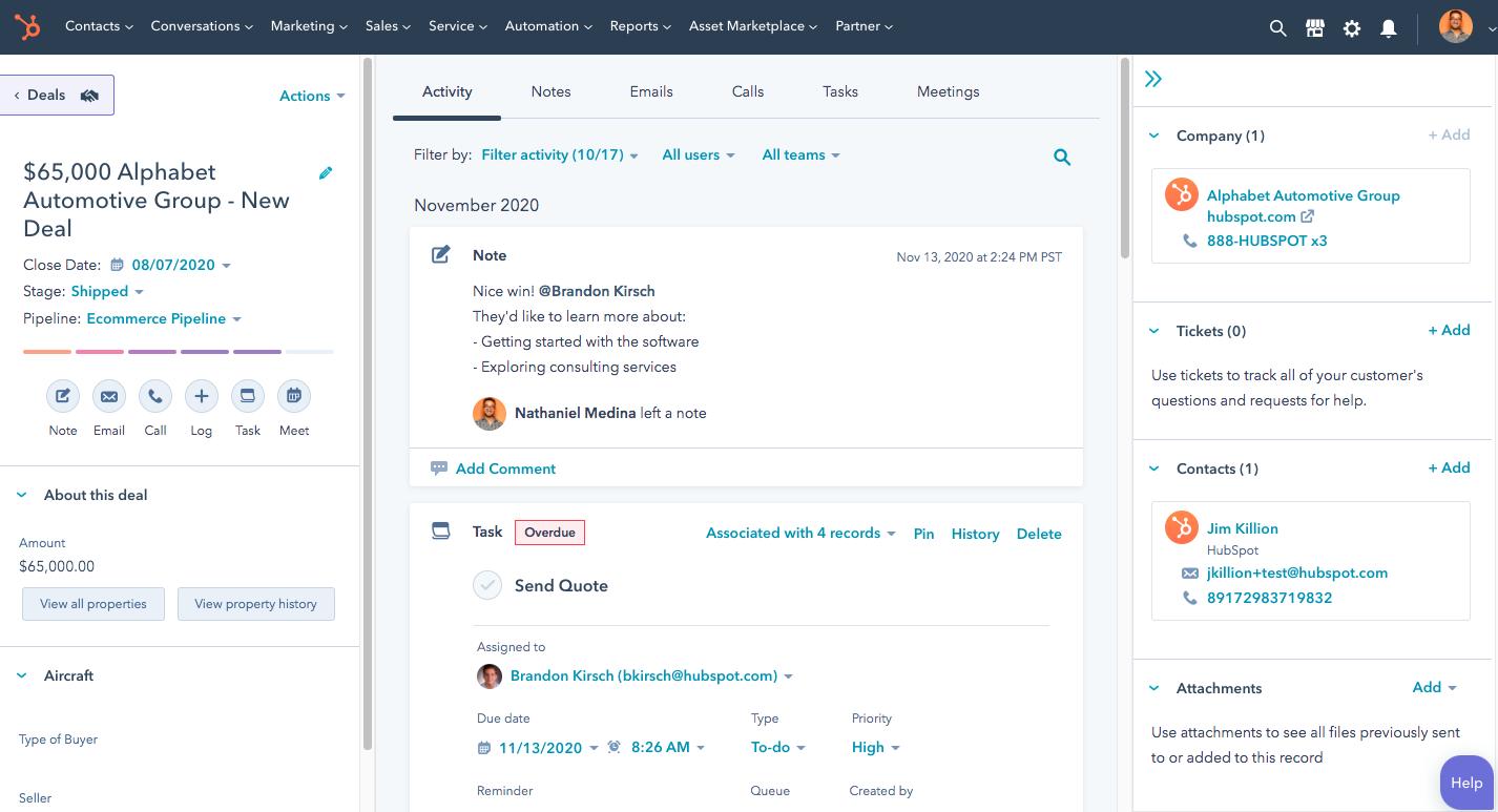 Personalización fácil: ventaja frente a Salesforce CRM