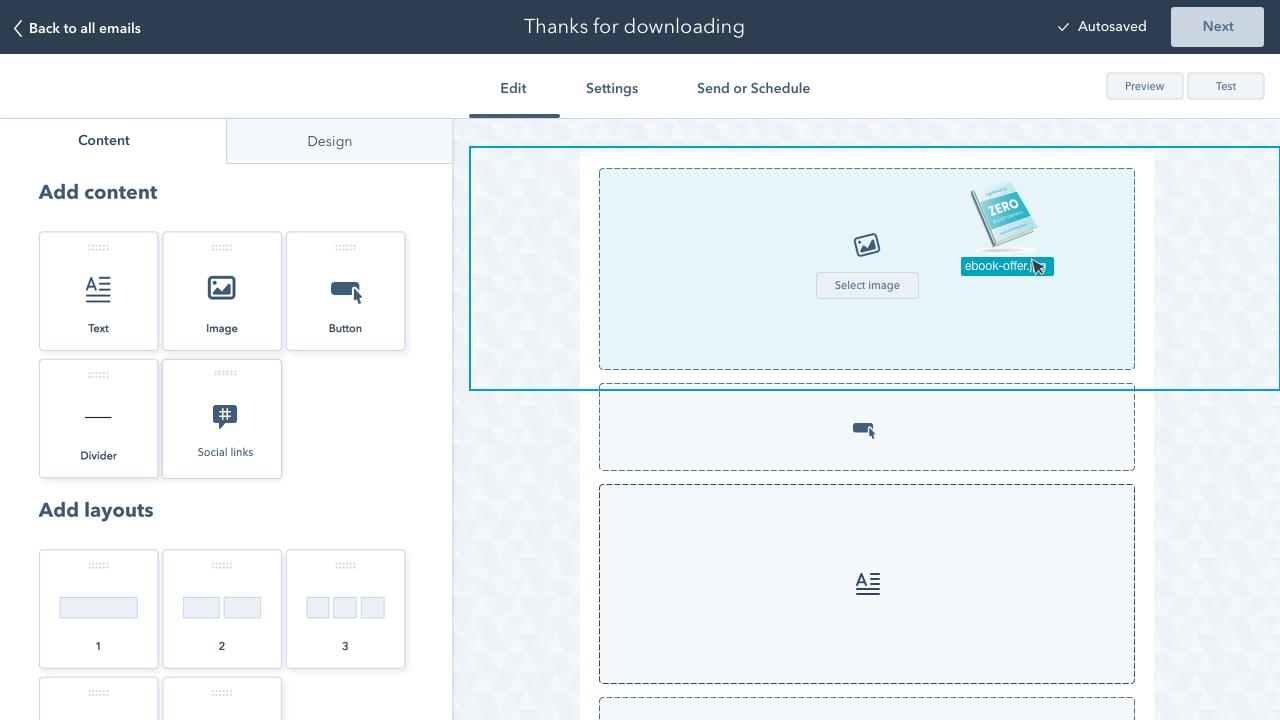 HubSpot: software para email marketing