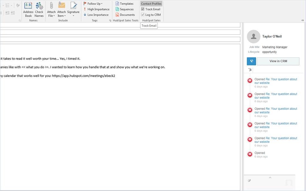 Crear plantillas para Outlook con HubSpot