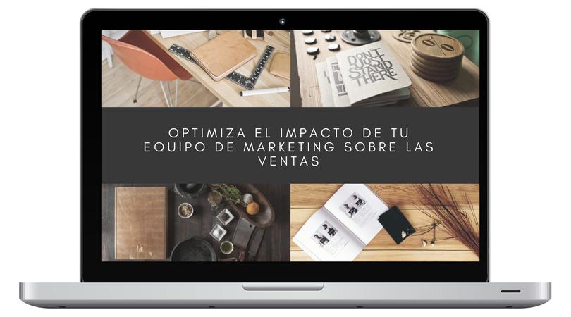Optimiza el impacto de marketing sobre ventas webinar
