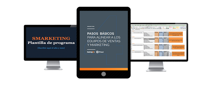 Kit para alinear equipos de marketing y ventas
