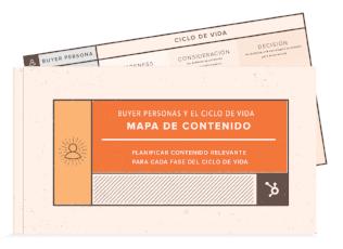 Plantillas gratuitas para crear mapas de contenido