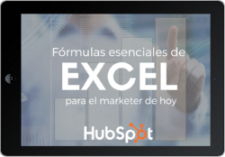 Fórmulas esenciales de excel para marketing
