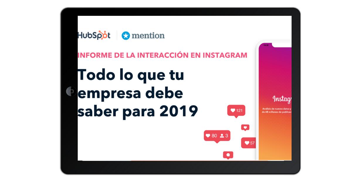 Informe interacción Instagram