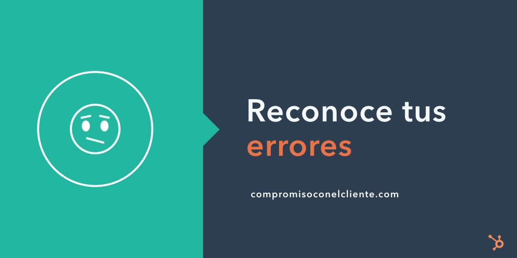 compromiso con el cliente - errores