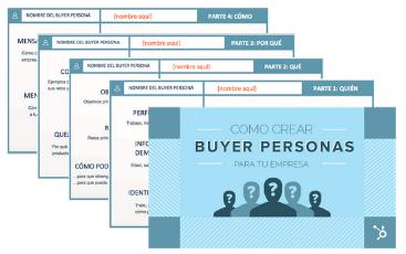 Plantillas para crear buyer personas
