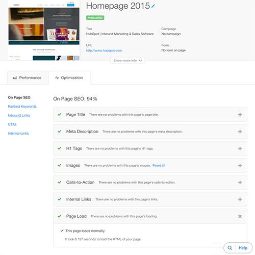 Plataforma de Sitios web de HubSpot - Velocidad, seguridad y tiempo de actividad